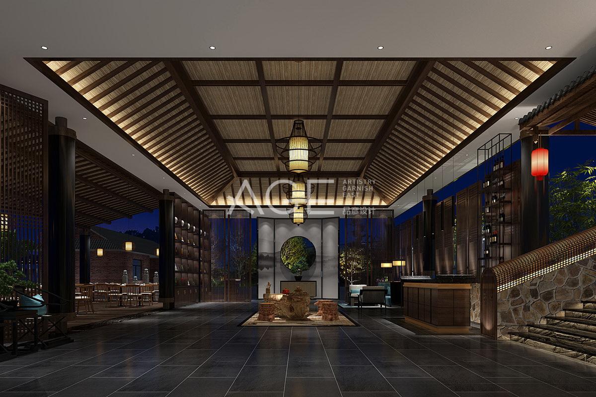 好的高等级餐厅饭馆策划装潢就是让客人住的舒服
