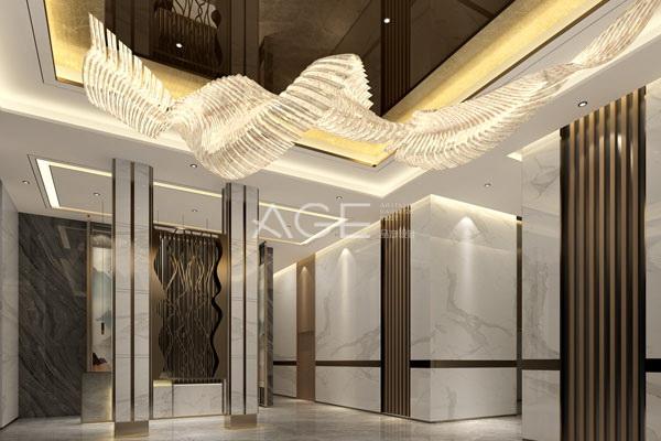 好的主题酒店灯光设计同样值得居家参考